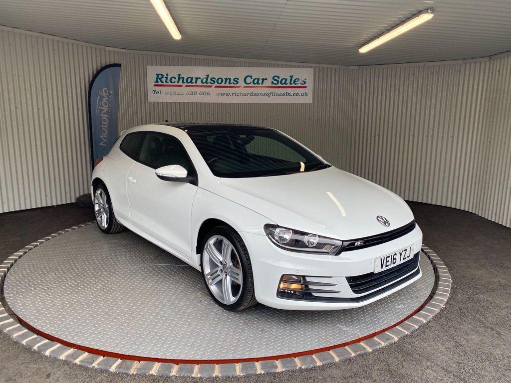 Volkswagen Scirocco Hatchback 2.0 TDI BlueMotion Tech R-Line DSG 3dr