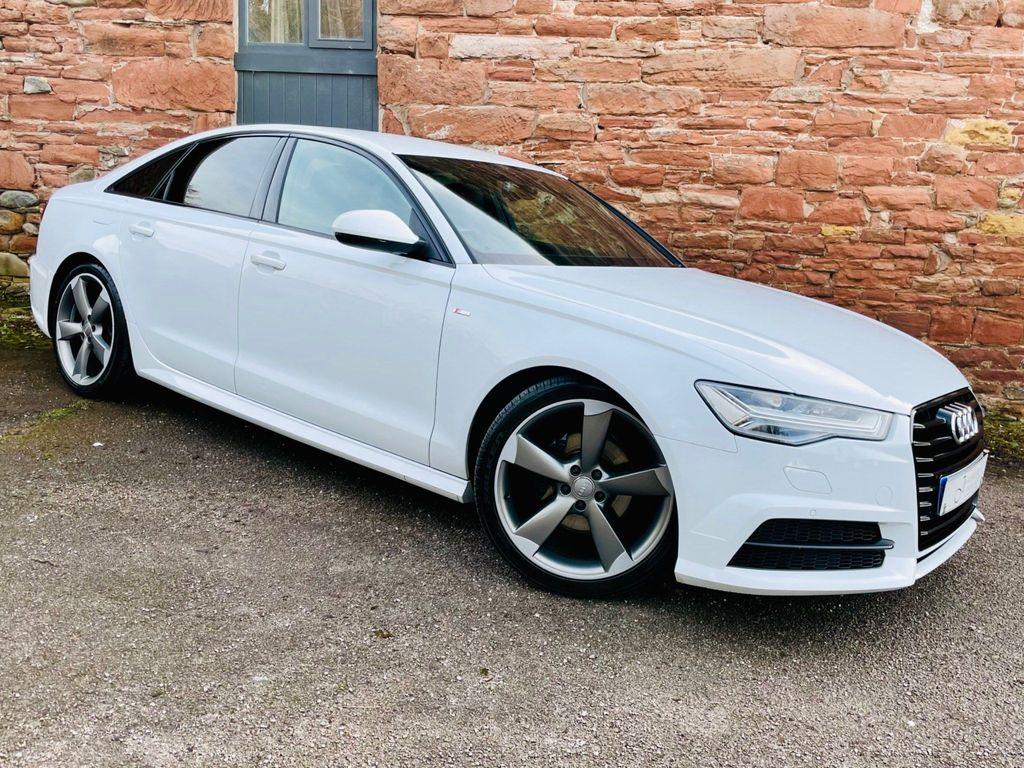 Audi A6 Saloon Saloon 2.0 TDI ultra Black Edition (s/s) 4dr