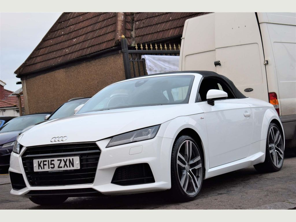 Audi TT Convertible 2.0 TFSI S line Roadster S Tronic (s/s) 2dr