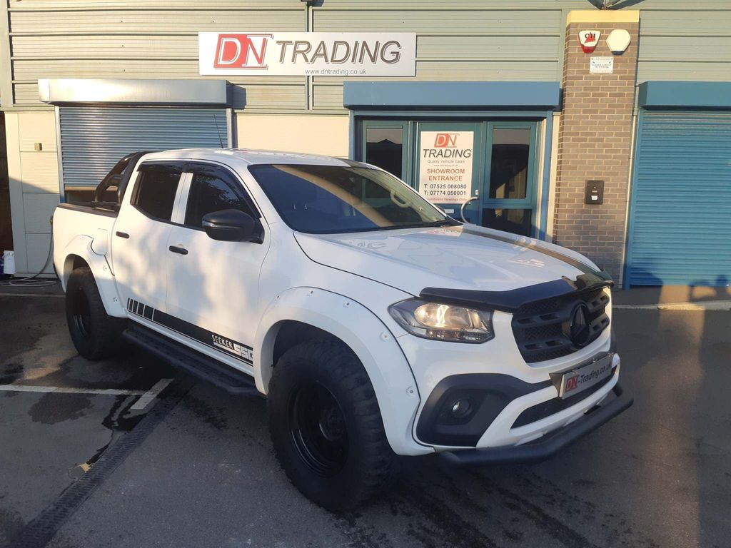 Mercedes-Benz X Class Pickup 2.3 X250d Pure Double Cab Pickup Auto 4MATIC 4dr