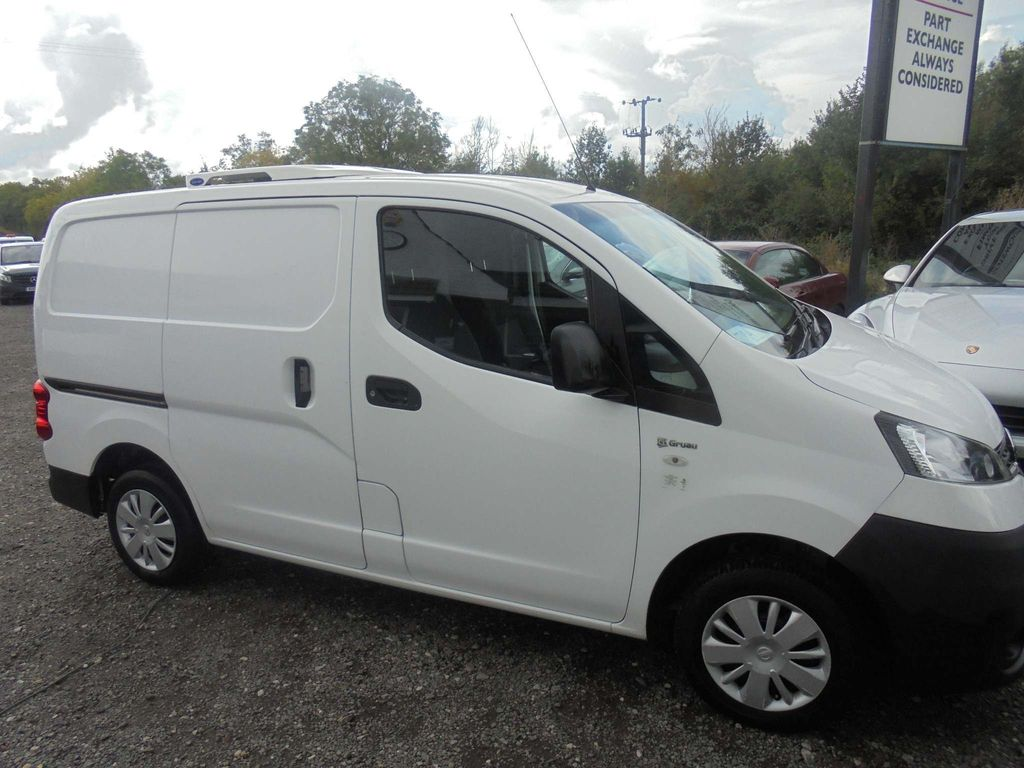 NISSAN NV200 Temperature Controlled 1.5 dCi Acenta Refrigerated Van 5dr (Single Side Load Door)
