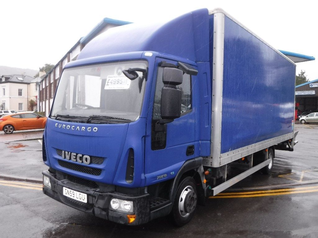 Iveco Eurocargo Box ML75E18 AUTO *Direct From NHS*