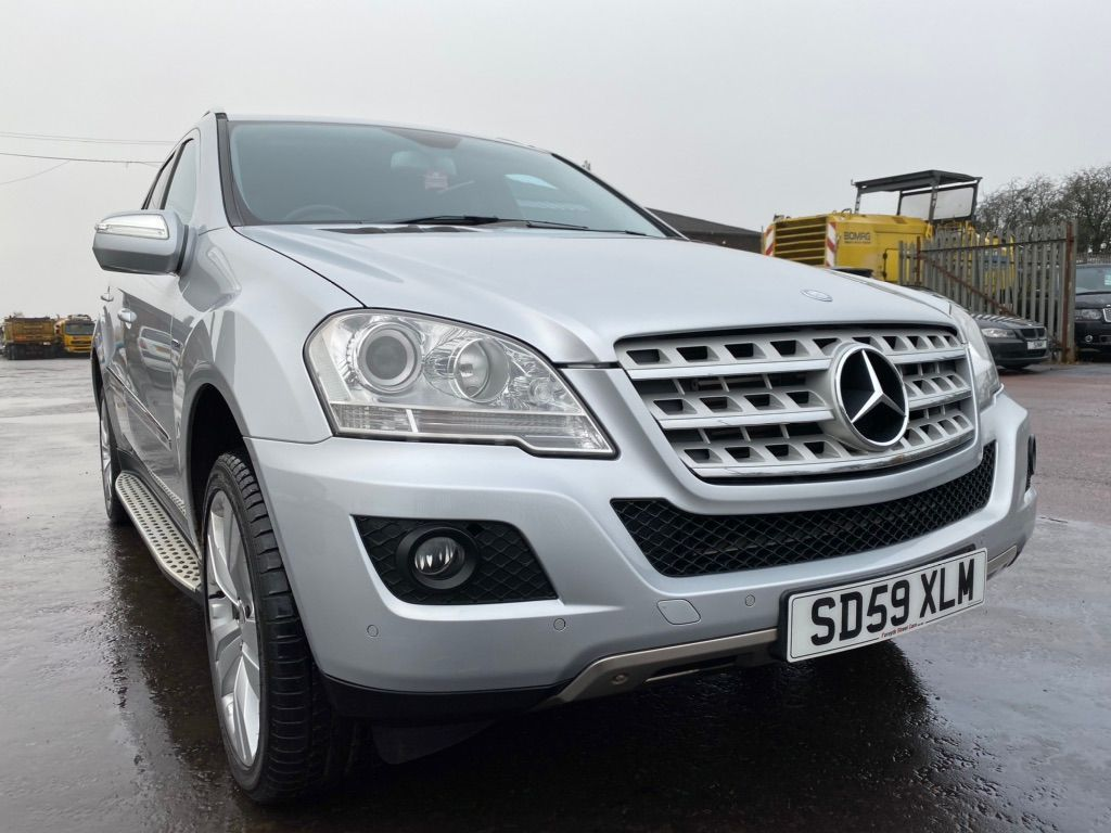 Mercedes-Benz M Class SUV 3.0 ML350 CDI BlueEFFICIENCY Sport 7G-Tronic 4x4 5dr