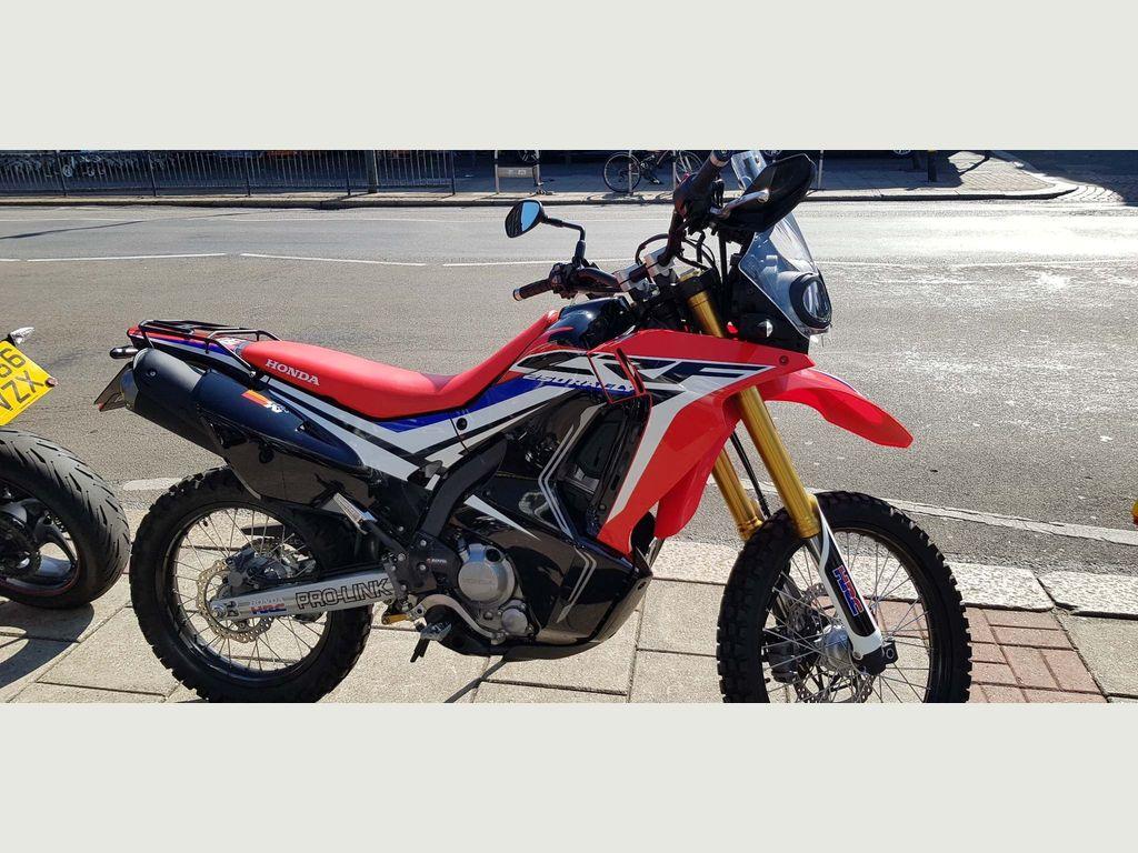Honda CRF250 Rally Unlisted