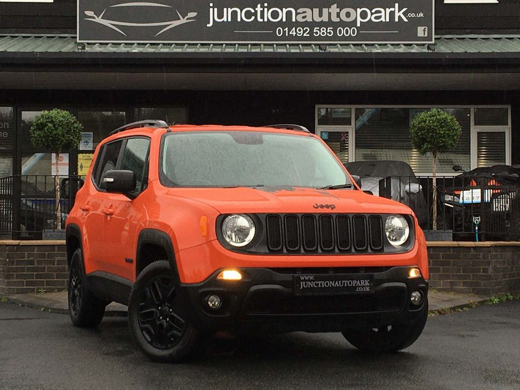 Jeep Renegade SUV 2.0 MultiJetII Tough Mudder Auto 4WD (s/s) 5dr