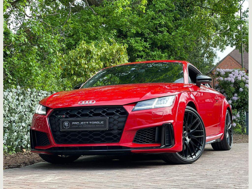 Audi TTS Coupe 2.0 TFSI Black Edition S Tronic quattro (s/s) 3dr