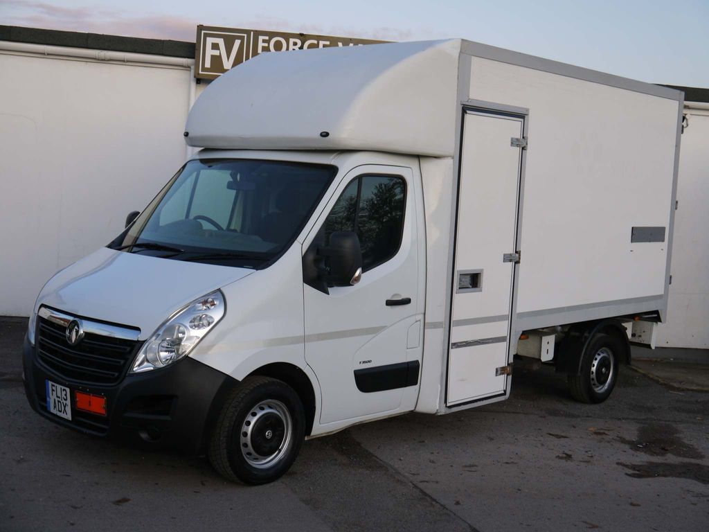 Vauxhall Movano Chassis Cab MOBILE SHOP LUTON WALK THROUGH HORSE BOX