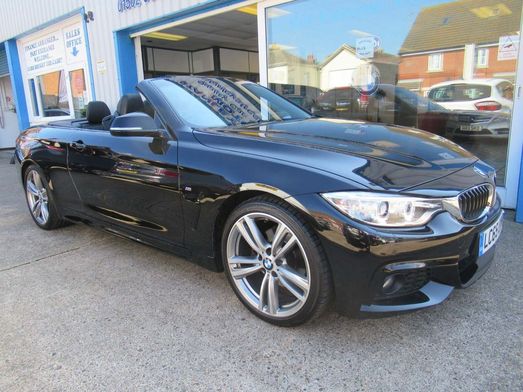 BMW 4 Series Convertible 2.0 420d M Sport 2dr
