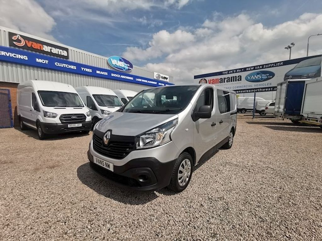 Renault Trafic Other 1.6 dCi 27 Business Crew Van 6dr
