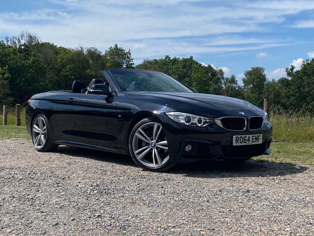 BMW 4 Series Convertible 3.0 435i M Sport Auto 2dr