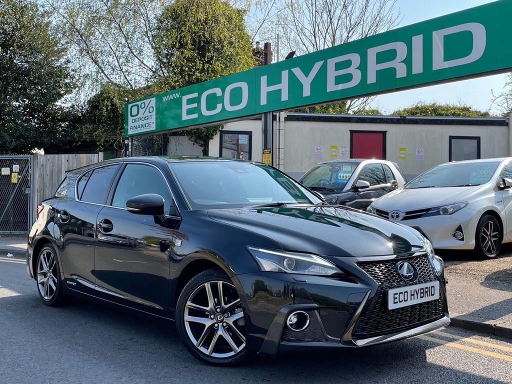 Lexus CT 200h Hatchback 1.8 200h F Sport (Premier) CVT (s/s) 5dr