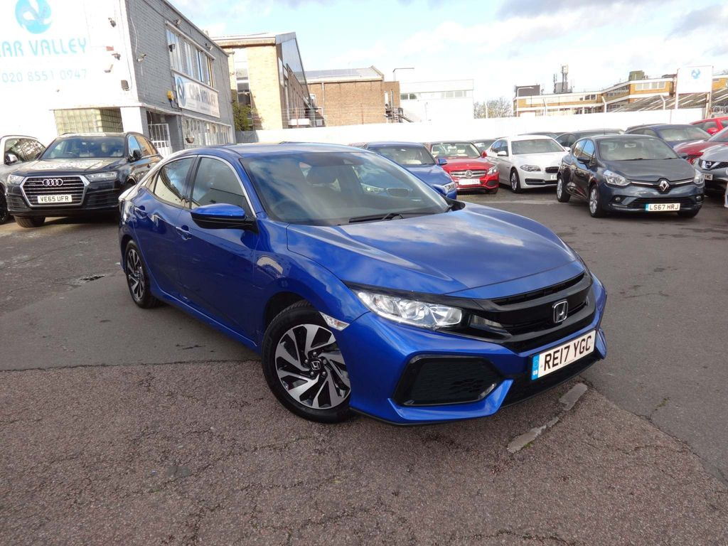 Honda Civic Hatchback 1.0 VTEC Turbo SE CVT (s/s) 5dr