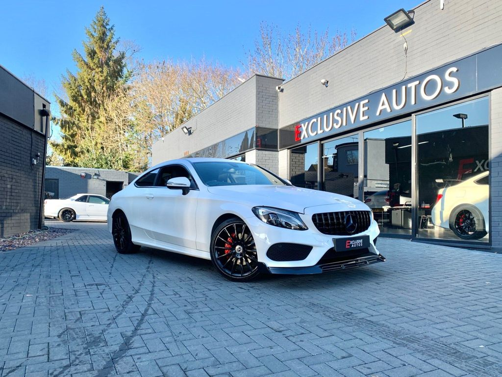 Mercedes-Benz C Class Coupe 2.0 C200 AMG Line G-Tronic+ (s/s) 2dr
