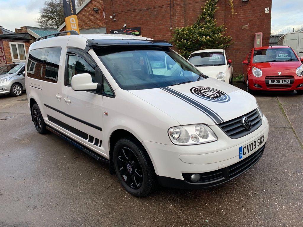 Volkswagen Caddy Maxi Life MPV 1.9 TDI Maxi Life DSG 5dr (7 Seats)