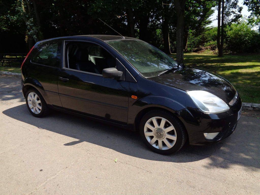 Ford Fiesta Hatchback 1.4 Black Limited Edition 3dr