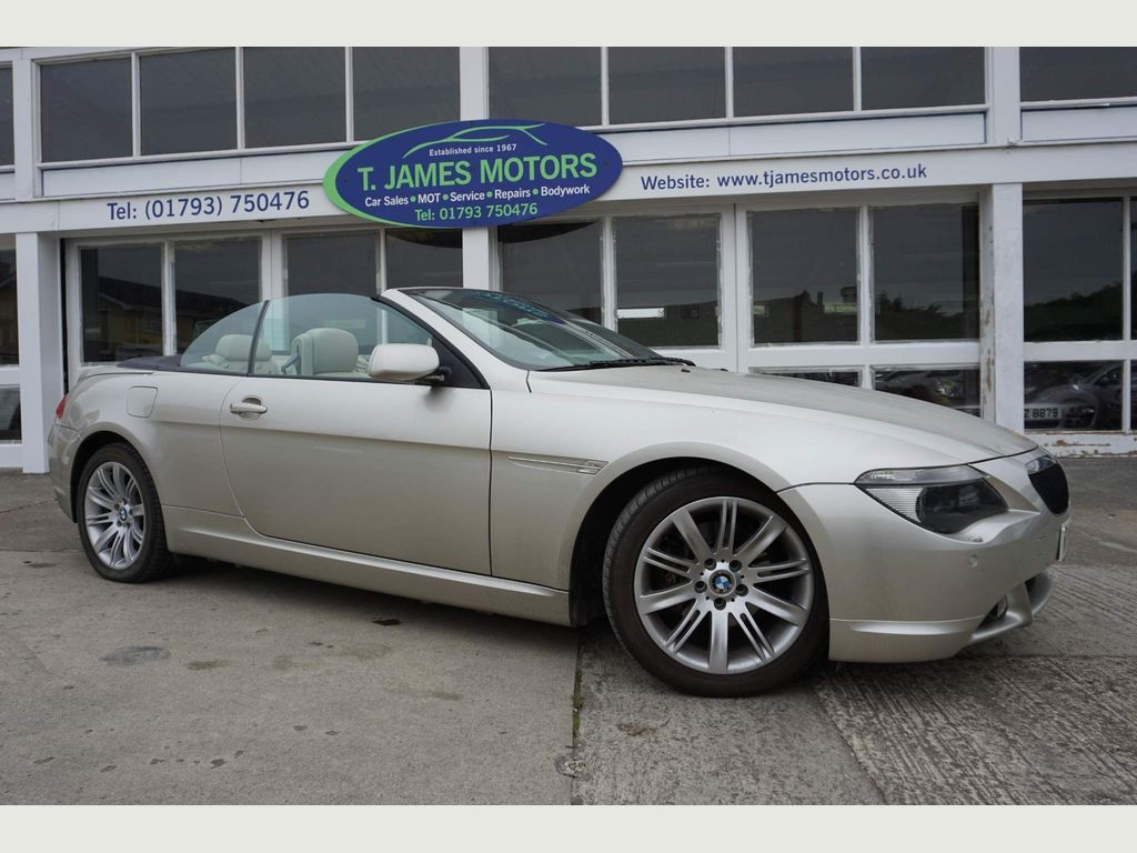 BMW 6 Series Convertible 3.0 630i 2dr