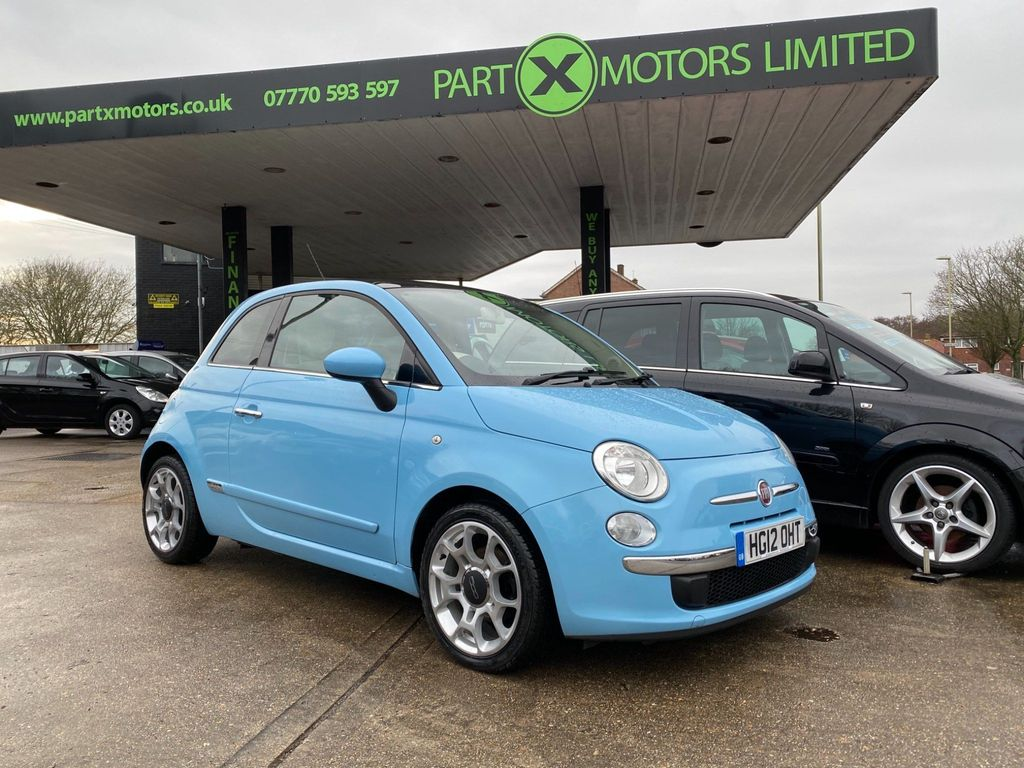 Fiat 500 Hatchback 0.9 TwinAir Lounge (s/s) 3dr