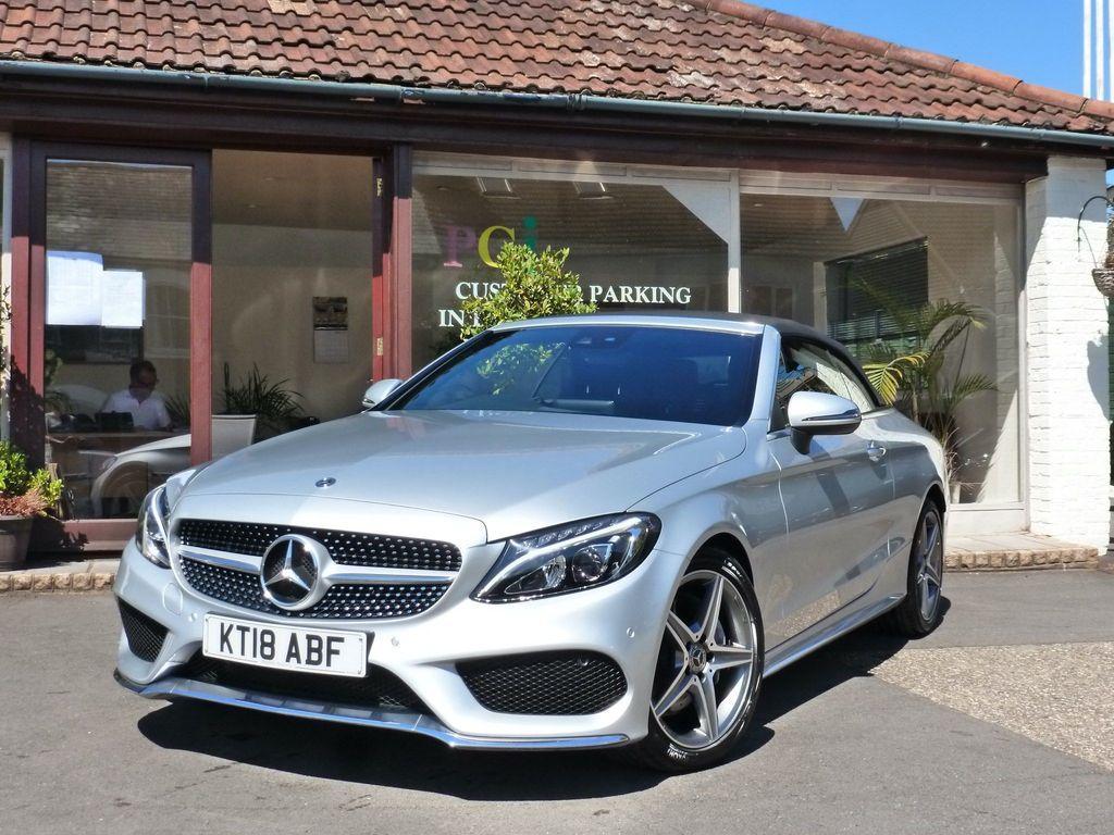 Mercedes-Benz C Class Convertible 2.1 C220d AMG Line (Premium Plus) Cabriolet G-Tronic+ (s/s) 2dr