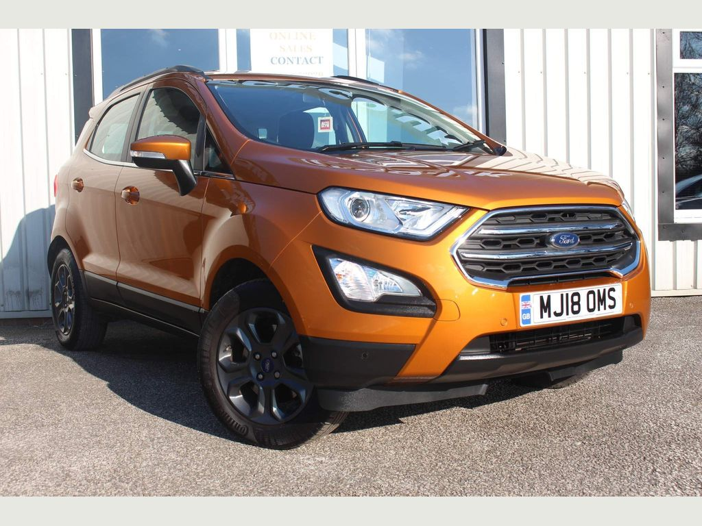 Ford EcoSport SUV 1.0T EcoBoost Zetec (s/s) 5dr