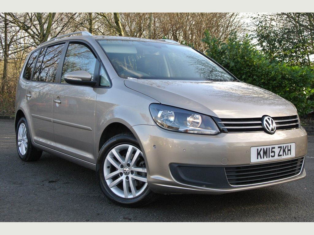 Volkswagen Touran MPV 1.6 TDI BlueMotion Tech SE DSG 5dr (7 Seats)