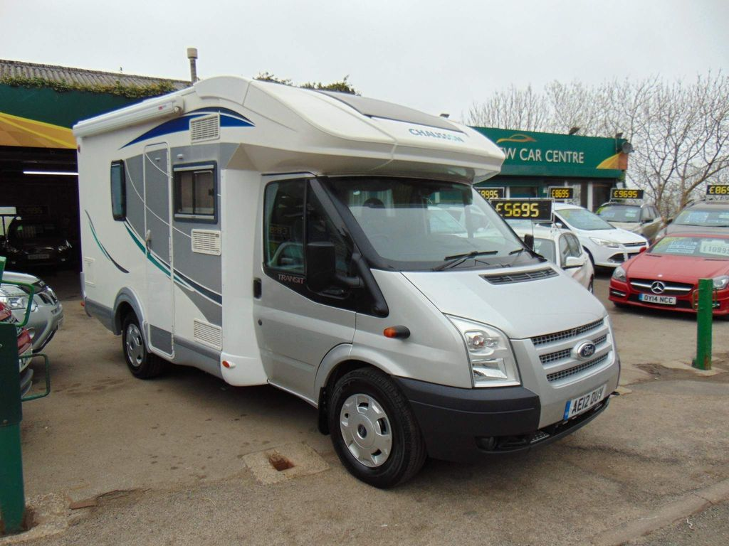 Chausson FORD CHAUSSON FLASH 2.2 2012 2 BERTH MOTORHOME D Motorhome motorhome