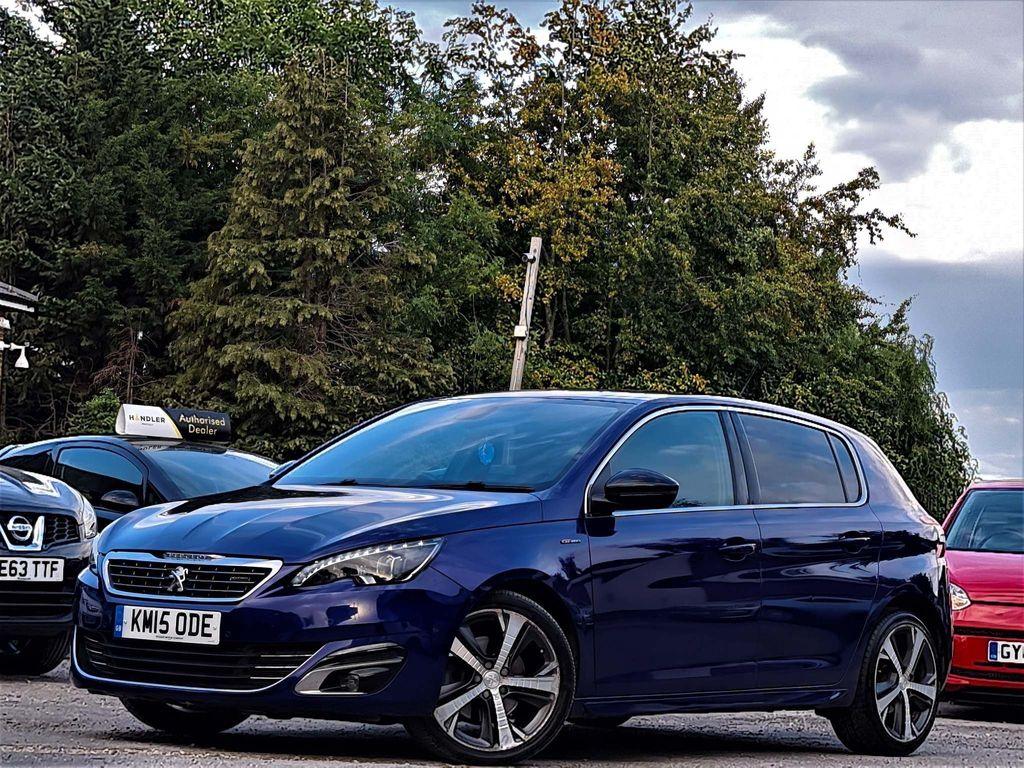 Peugeot 308 Hatchback 2.0 BlueHDi GT Line EAT6 (s/s) 5dr
