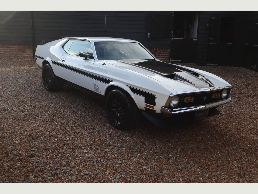 Ford Mustang Unlisted Mach 1 351