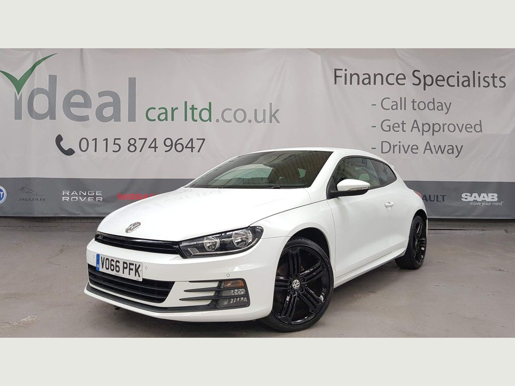 Volkswagen Scirocco Coupe 2.0 TDI BlueMotion Tech R-Line Hatchback DSG 3dr