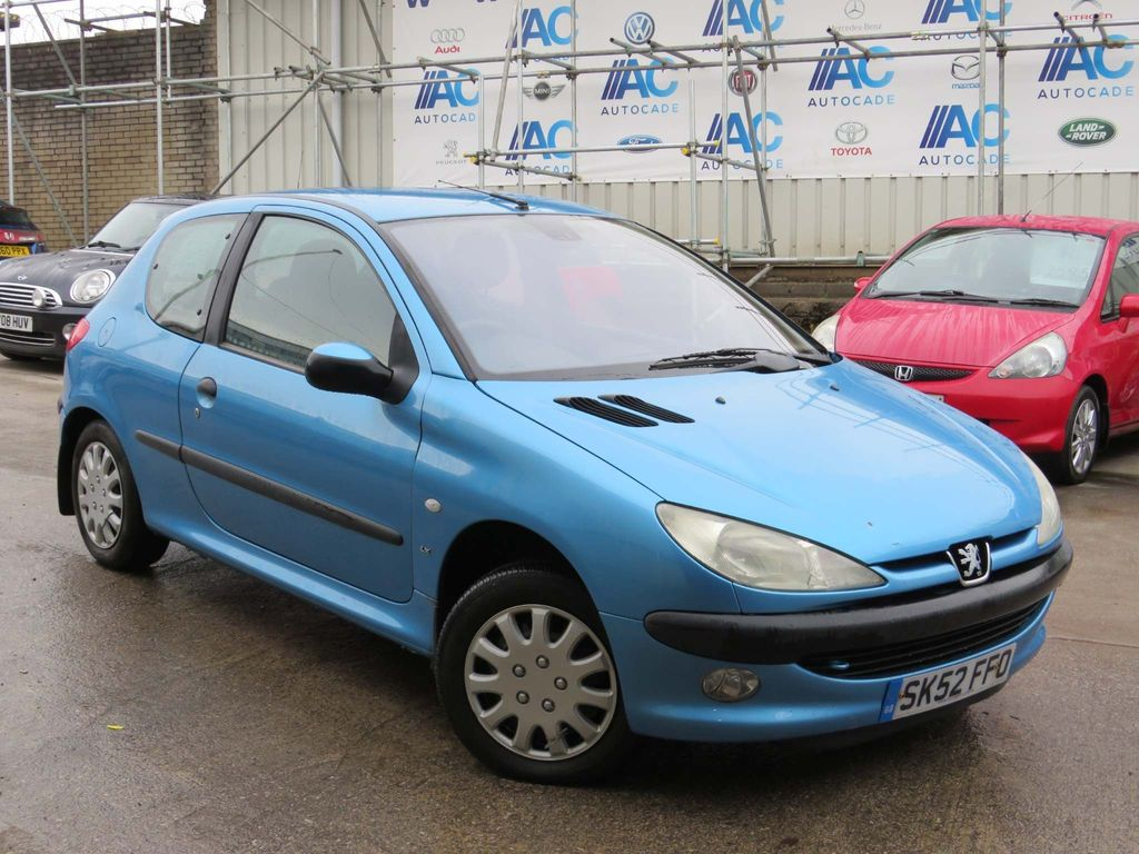 Peugeot 206 Hatchback 1.4 LX 3dr (electric sunroof)