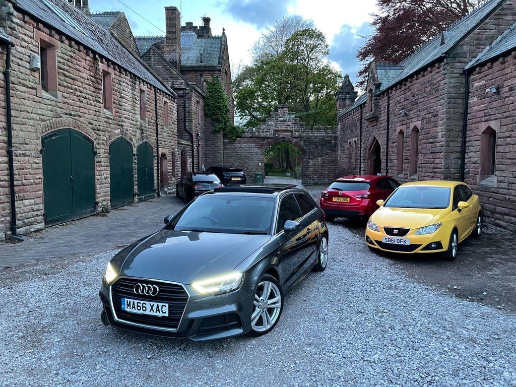 Audi A3 Hatchback 1.4 TFSI CoD S line (s/s) 3dr