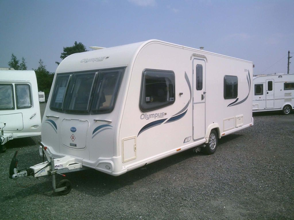 Bailey Olympus 530 Tourer 2012 4 BERTH FIXED BED