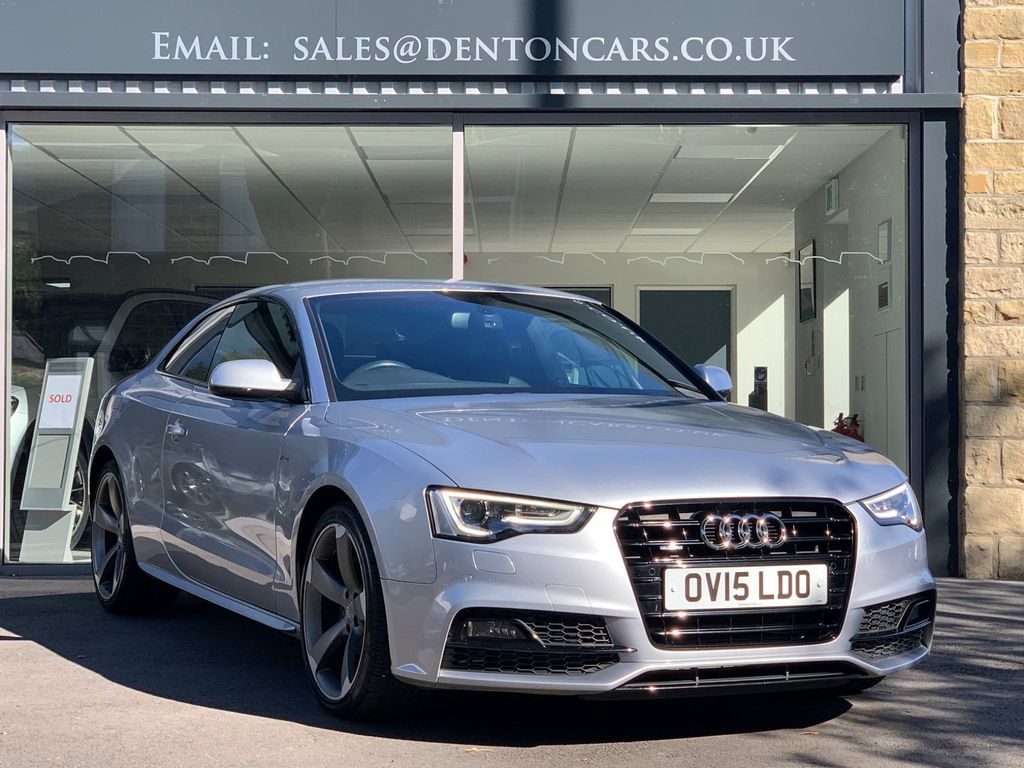 Audi A5 Coupe 3.0 TDI Black Edition Plus S Tronic quattro 2dr