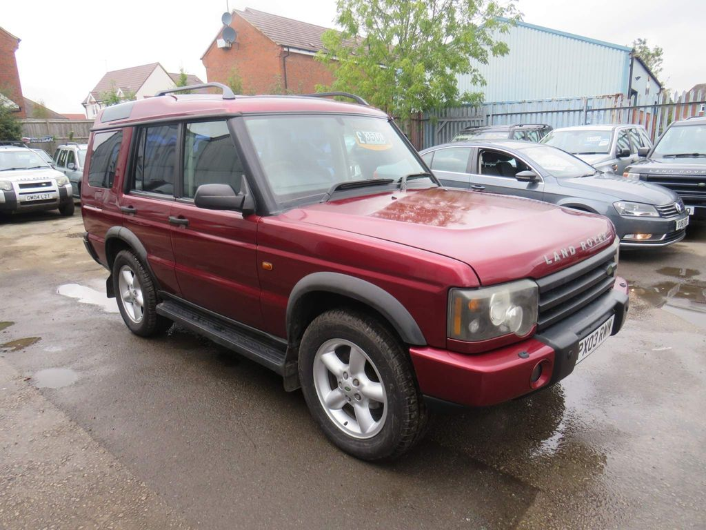 Land Rover Discovery SUV 2.5 TD5 GS 5dr (7 Seats)