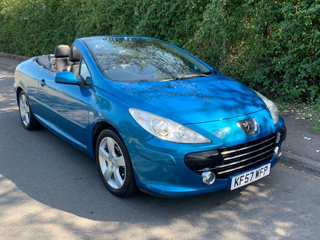 Peugeot 307 CC Convertible 2.0 16v Sport 2dr