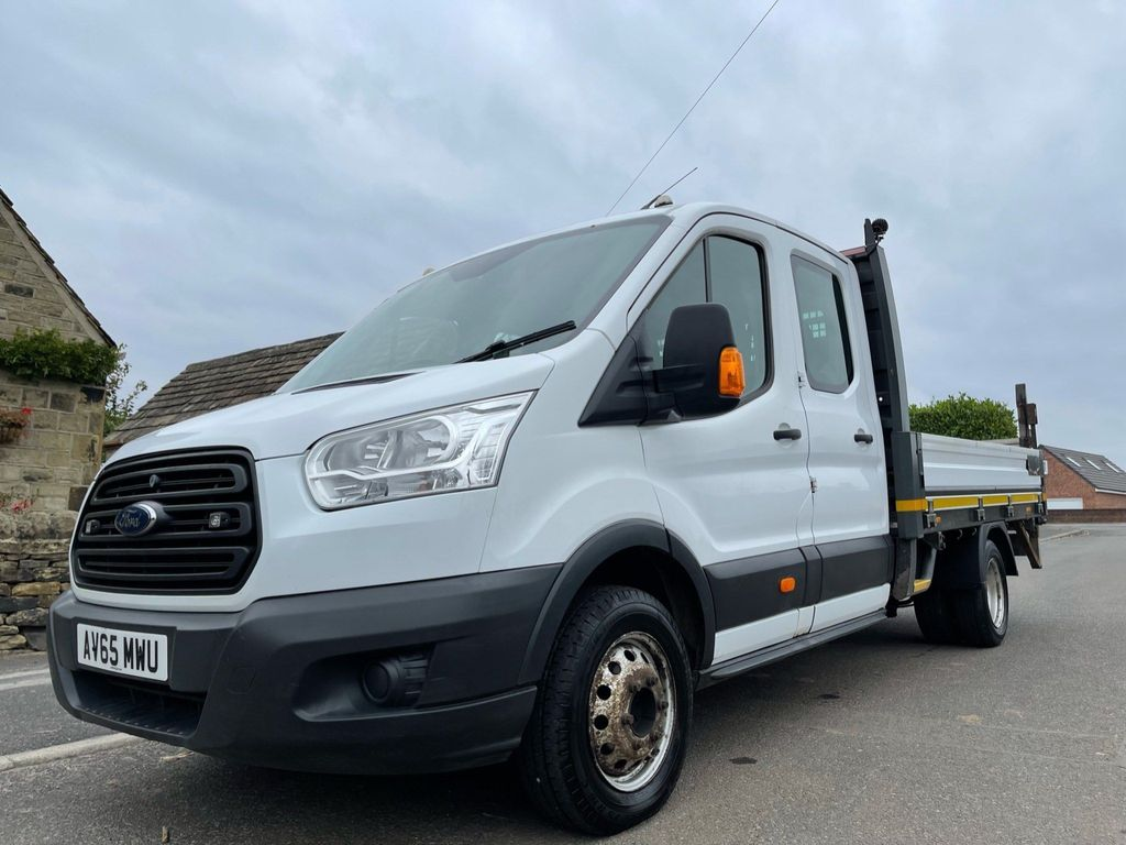 Ford Transit Chassis Cab 2.2 TDCi 350 Double Cab Chassis Cab RWD L4 H1 EU5 4dr (DRW)