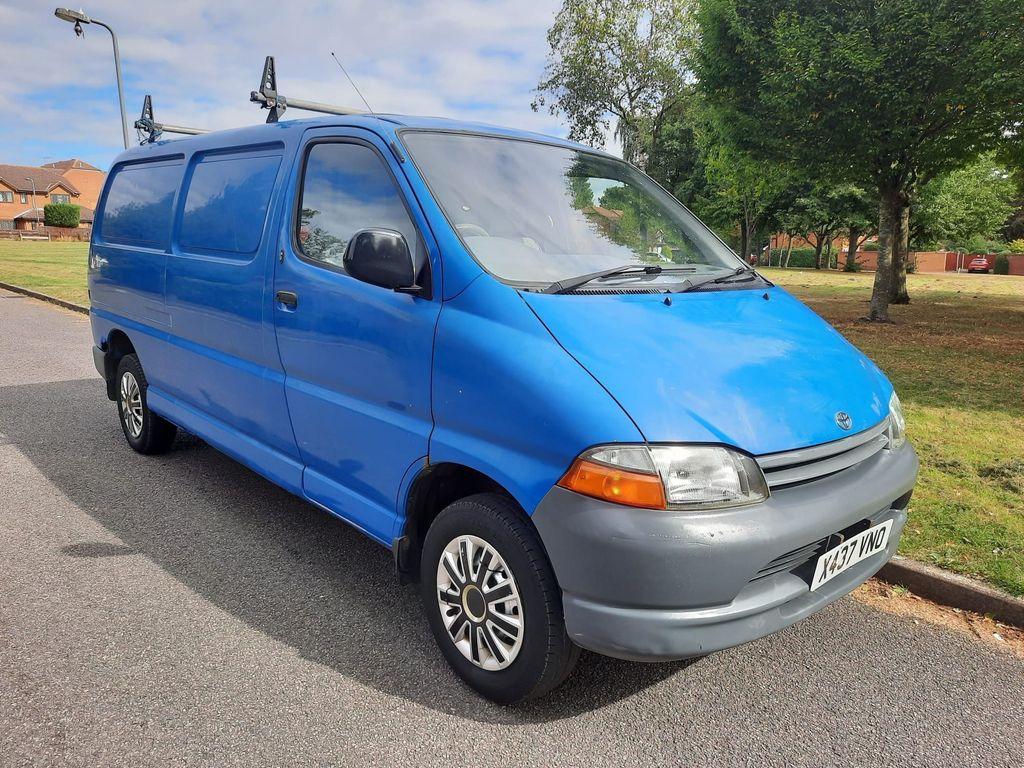 Toyota HiAce Panel Van 2.4 D POWERVAN LONG WHEEL BASE VAN