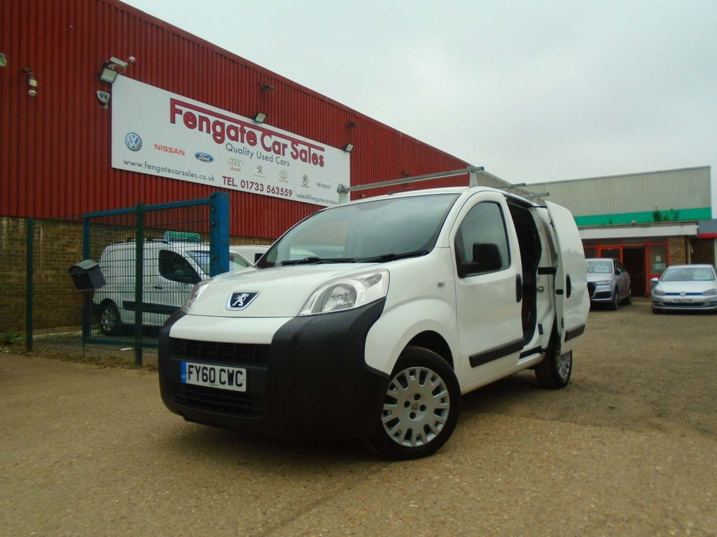 Peugeot Bipper Panel Van 1.4 HDi 8v SE Panel Van 3dr