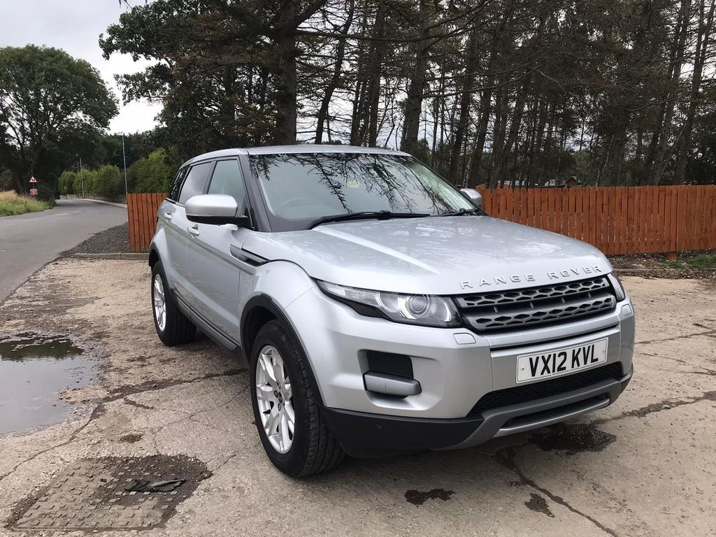 Used Land Rover Range Rover Evoque Suv 2 2 Sd4 Pure Tech Awd 5dr In Wakefield West Yorkshire T And T Motors