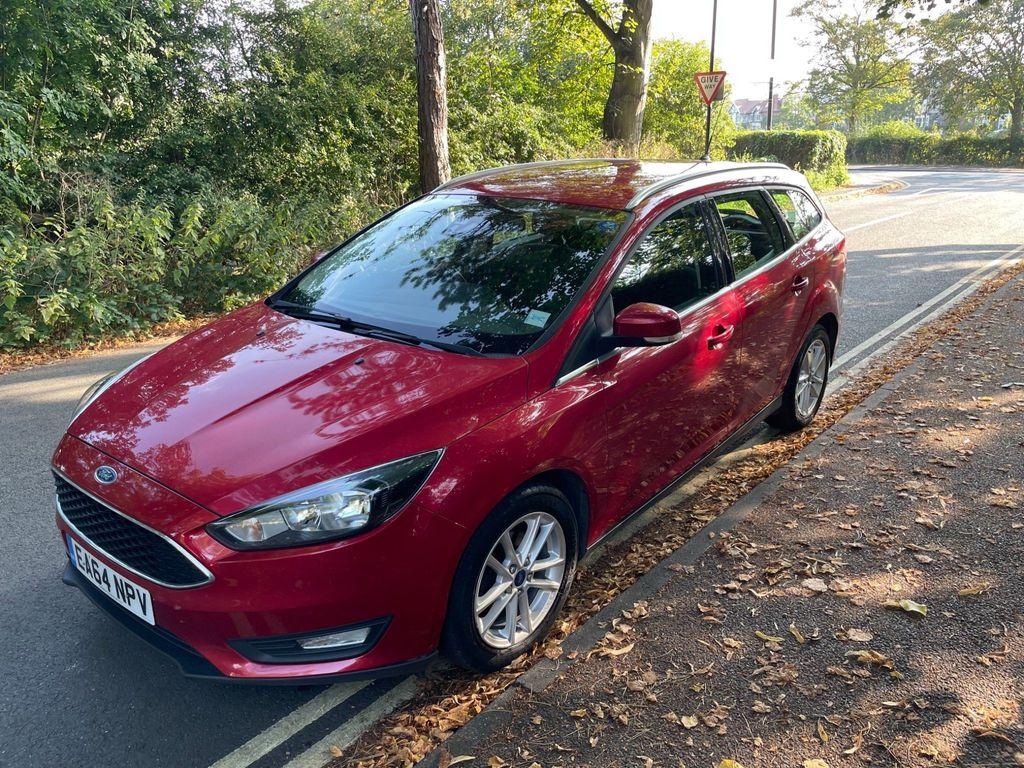Ford Focus Estate 1.6 TDCi Zetec (s/s) 5dr