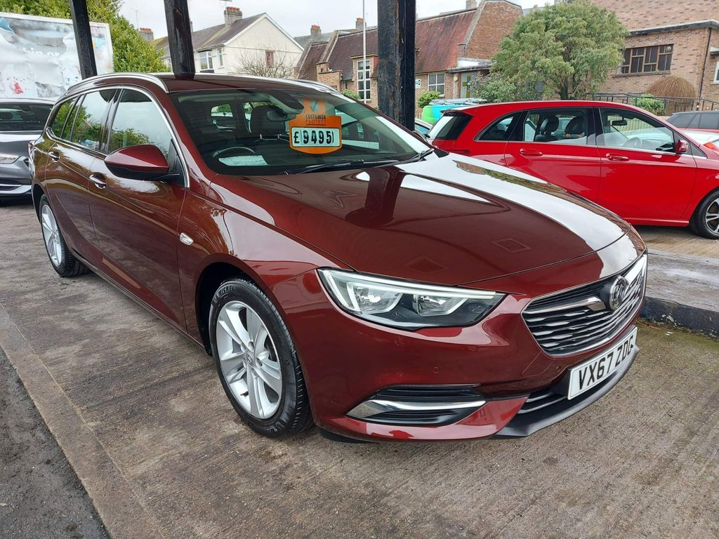 Vauxhall Insignia Estate 1.6 Turbo D ecoTEC BlueInjection Tech Line Nav Sports Tourer (s/s) 5dr