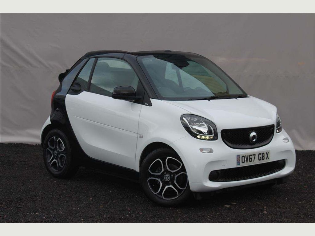 Smart fortwo Convertible 1.0 Prime Cabriolet (s/s) 2dr