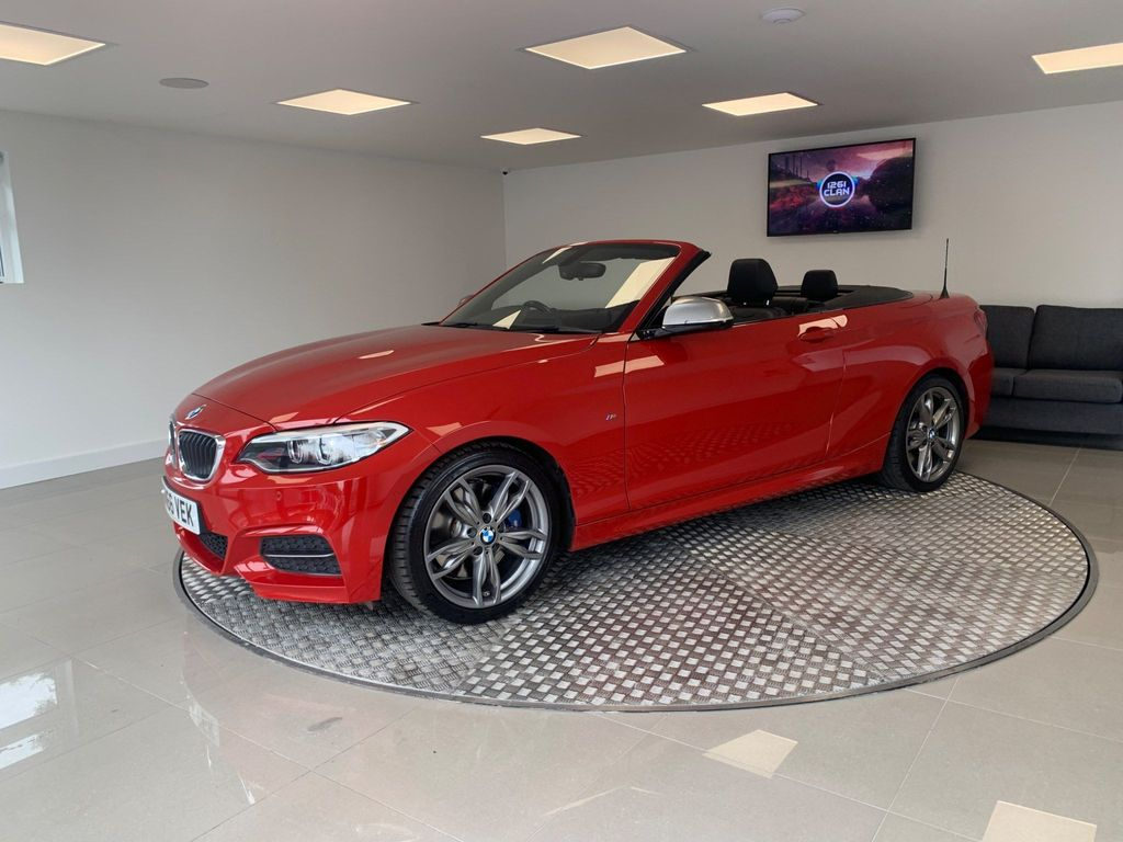 BMW 2 Series Convertible 3.0 M240i Sport Auto (s/s) 2dr