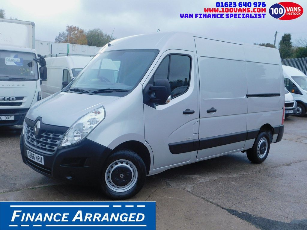 Renault Master Panel Van 2.3DCI BUSINESS 125PS AIR CON EURO 6