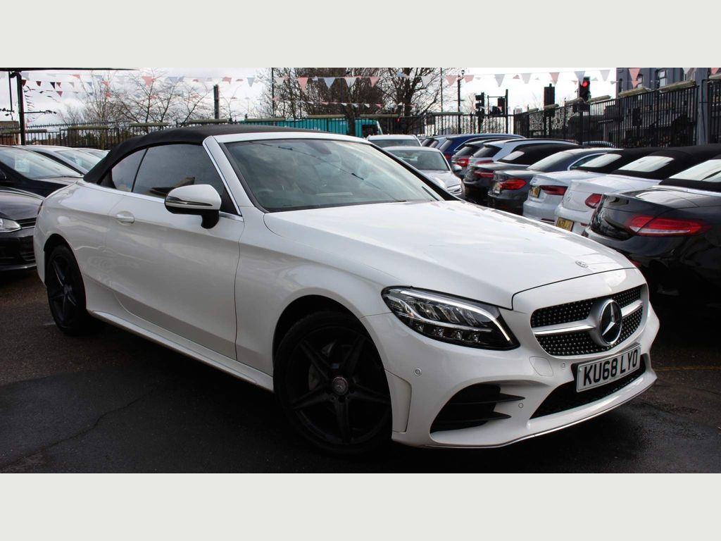 Mercedes-Benz C Class Convertible 2.0 C220d AMG Line Cabriolet G-Tronic+ 4MATIC (s/s) 2dr