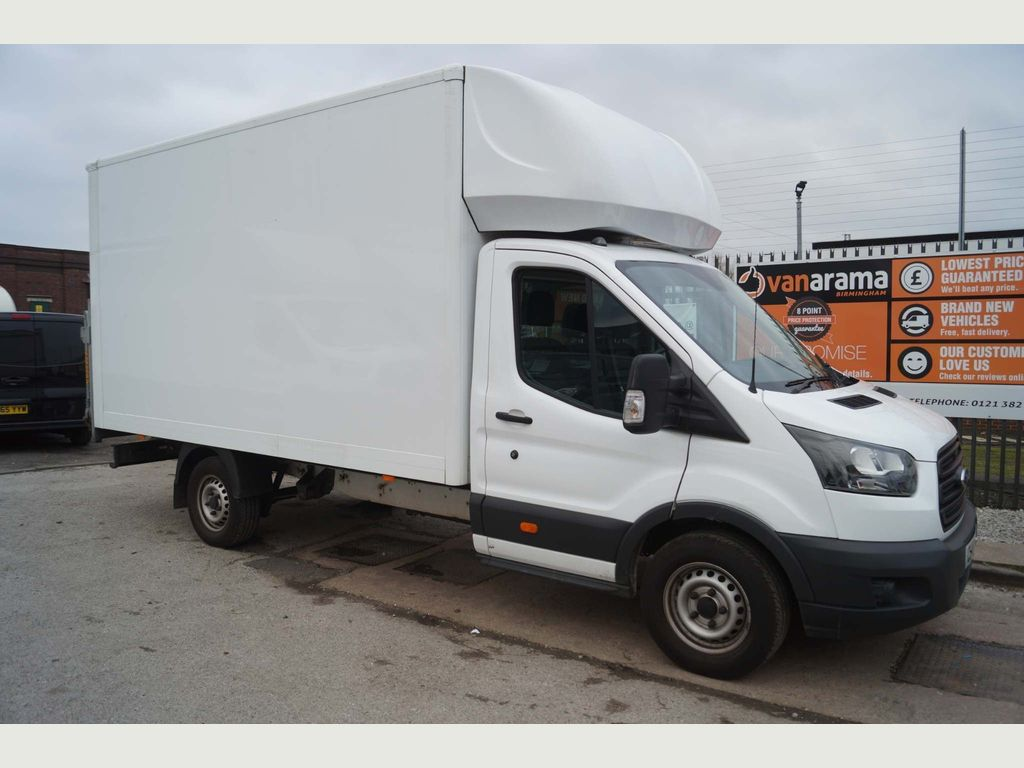 Ford Transit Luton 350 XLWB LUTON WITH TAIL-LIFT 2.0TD EUR6