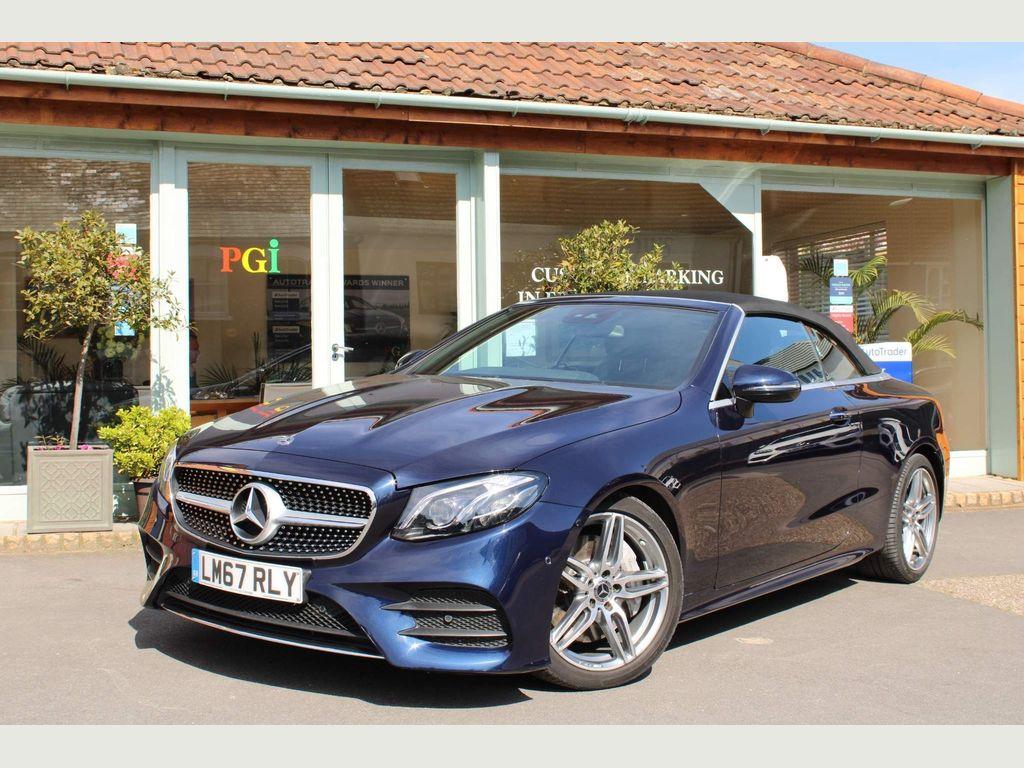 Mercedes-Benz E Class Convertible 2.0 E300 AMG Line (Premium Plus) Cabriolet G-Tronic+ (s/s) 2dr