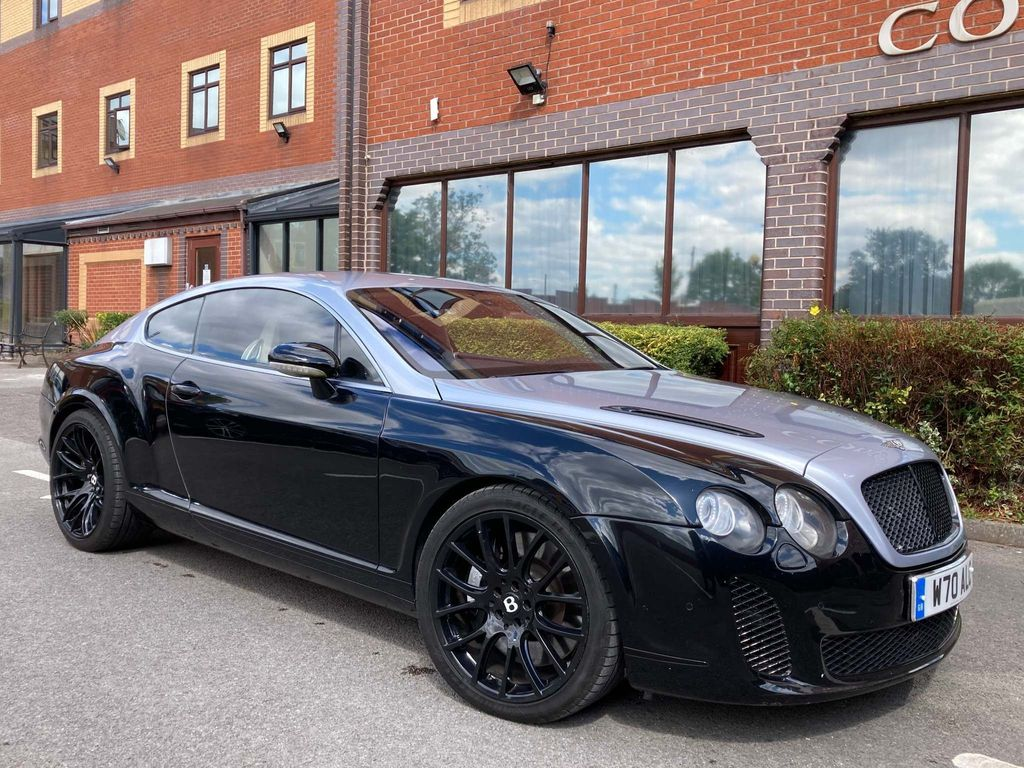 Used Bentley Continental Coupe 6 0 Gt 2dr In Birmingham West Midlands Anderton Motor Group
