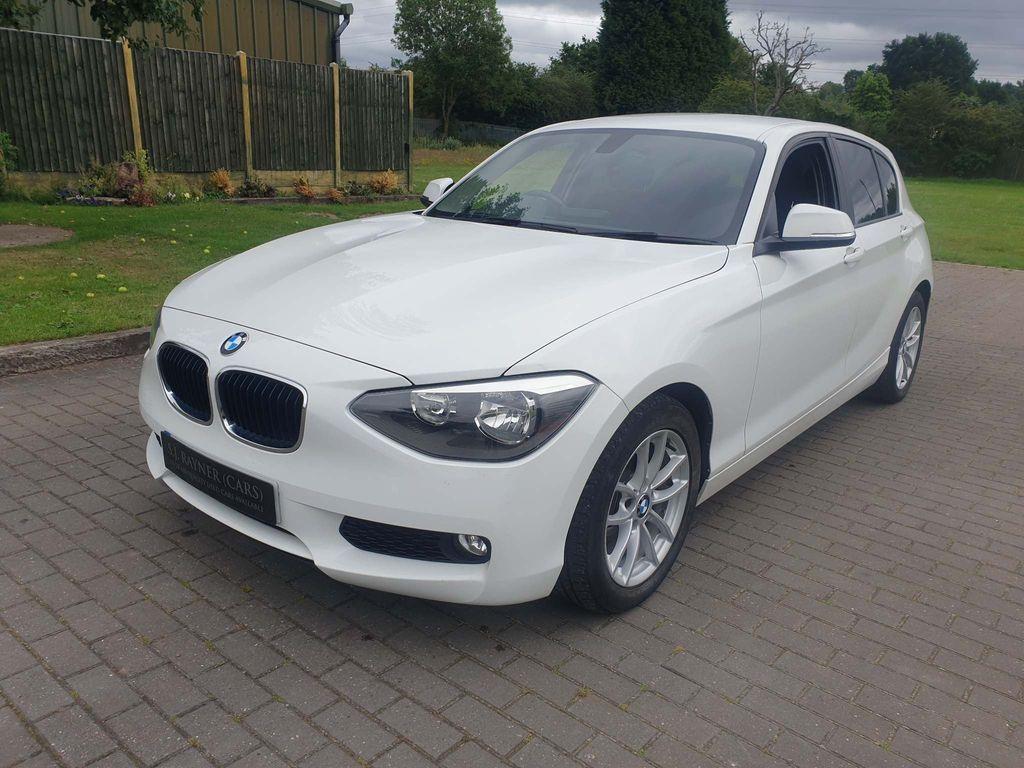 BMW 1 Series Hatchback 1.6 116d EfficientDynamics Sports Hatch 5dr