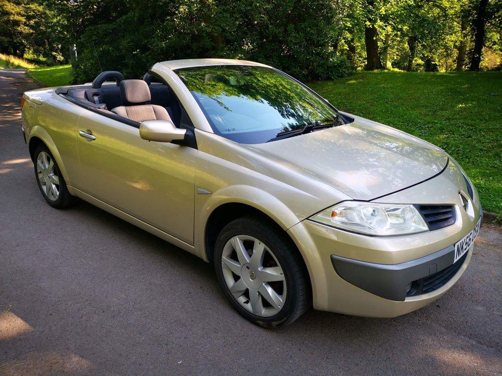 Renault Megane Convertible 1.6 VVT Dynamique 2dr