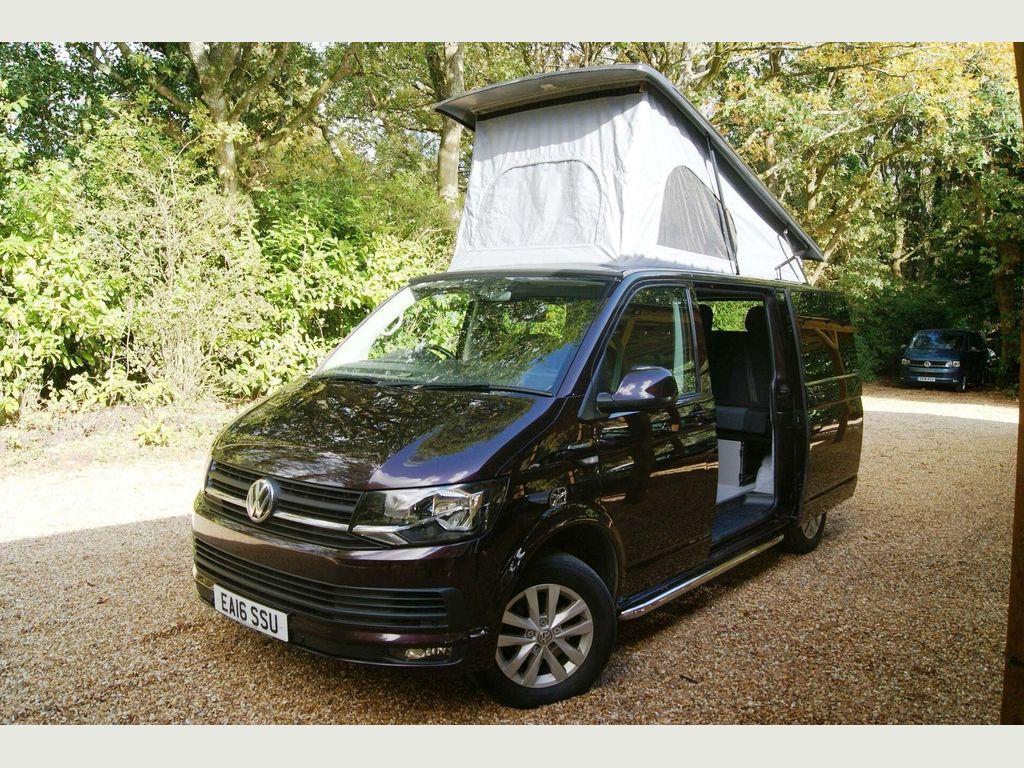 Volkswagen Transporter Campervan T6 140PS SWB 4 BERTH 5 SEAT CAMPERVAN